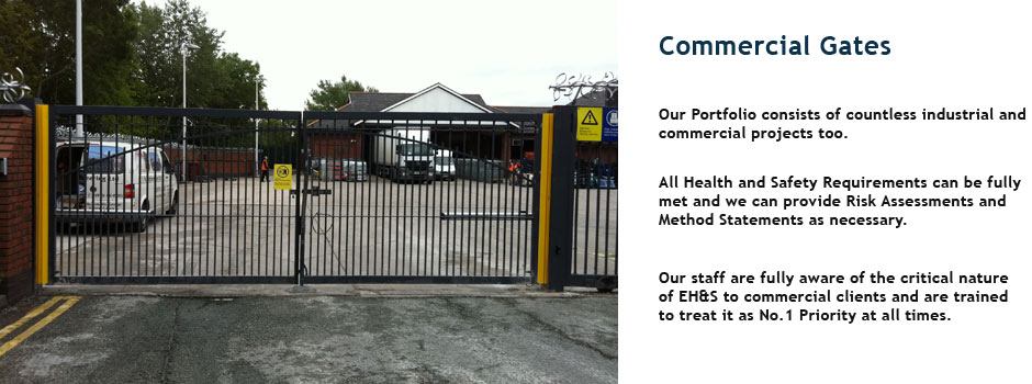 FM Engineering Commercial Gates